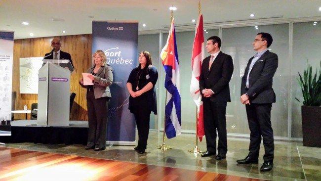 2017-02-13 Cocktail de bienvenue pour la délégation cubaine du secteur de l'énergie