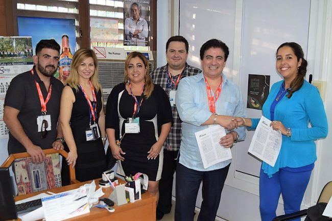 Firman contrato Cargomax y Agencia Transitaria Palco
