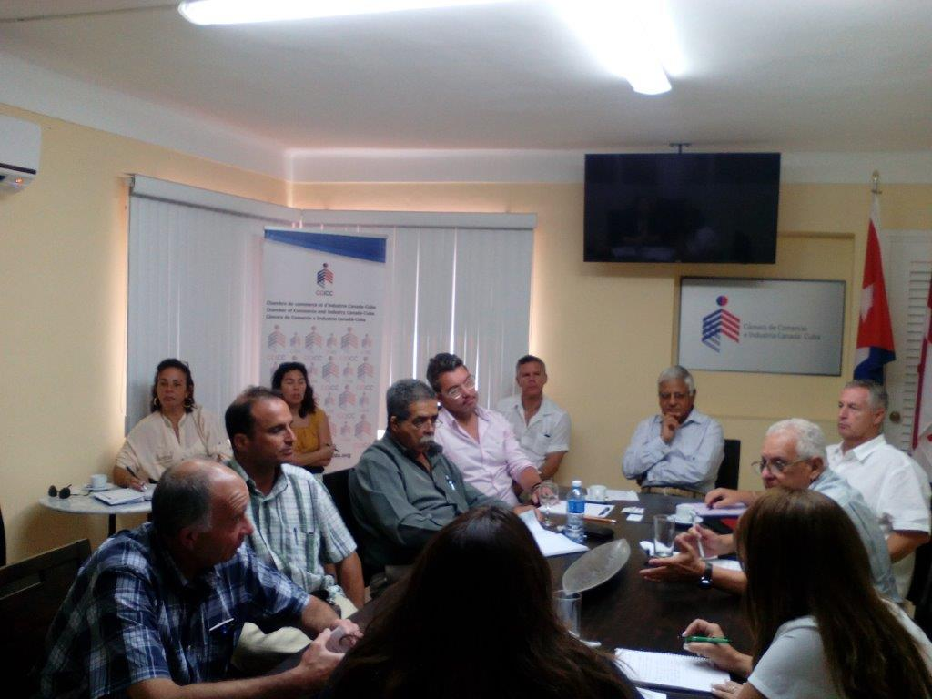 2018-06-28 Table de concertation sur le secteur financier – La Havane