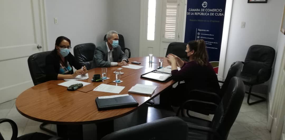 Rencontre à la Havane entre les deux chambres de commerce