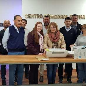 Donación de impresora al Hospital de Rocha