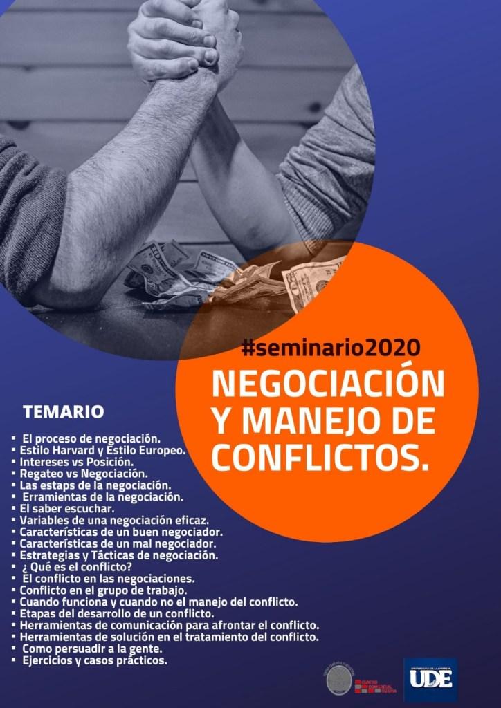 Taller de Negociación y Manejo de Conflictos