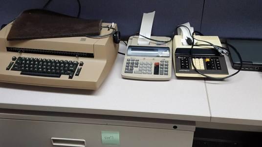 Typewriter, Calculator