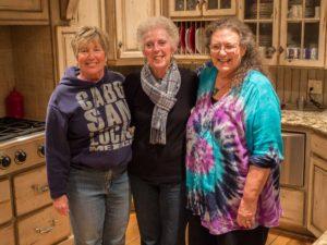 Marlene (left), Carol (center)
