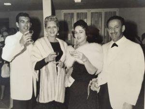 Jerry & Helen Tauber, Bessie & Al Cooper