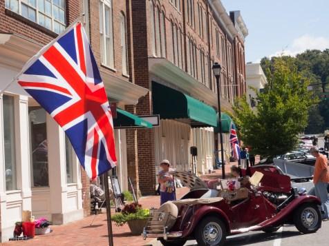 British Vintage Car Show, Greenville, TN