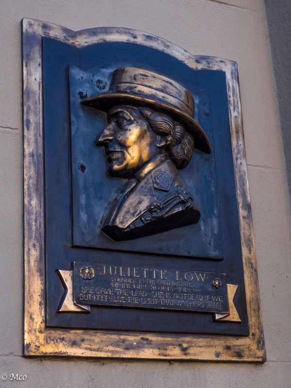 Founder of the Girl Scouts, Juliette Low