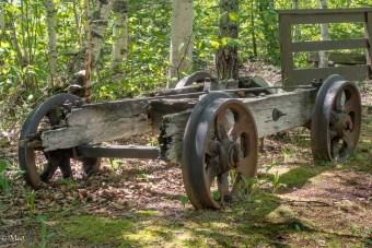 Ore cart base