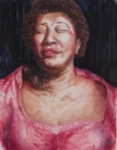 Ella Fitzgerald, painted by Gayle