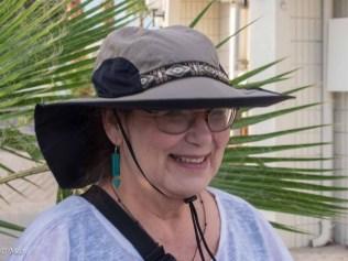 Cheryl's new hat
