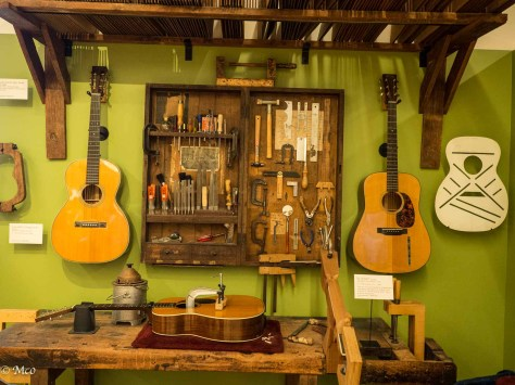 Guitar workroom