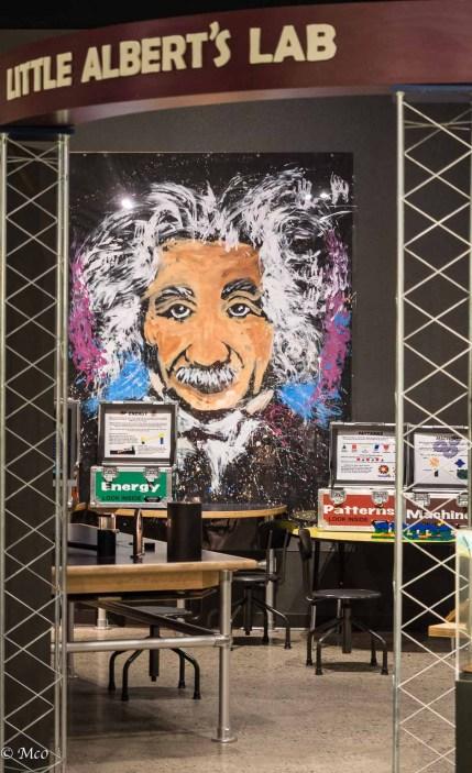 Kid's play area with Einstein