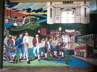 Spanish Arrival Mural