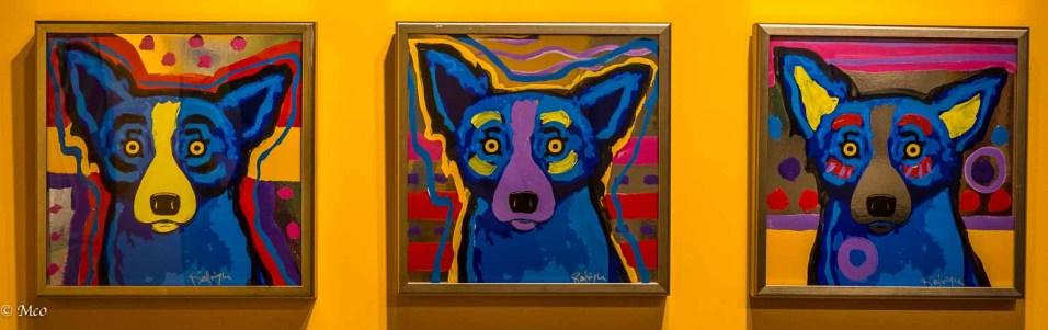Dog Paintings by Cajun Artist Rodrigue