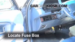 Interior Fuse Box Location: 19921998 Buick Skylark  1994