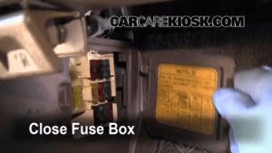 Interior Fuse Box Location: 19901995 Toyota 4Runner