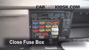 Interior Fuse Box Location: 19901996 Oldsmobile Cutlass