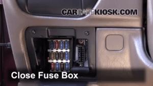 Interior Fuse Box Location: 19921996 Toyota Camry  1995 Toyota Camry LE 22L 4 Cyl Sedan (4 Door)