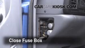 Interior Fuse Box Location: 19942002 Dodge Ram 2500  1997 Dodge Ram 2500 59L V8 Standard Cab