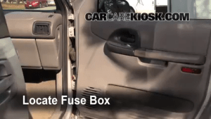 Interior Fuse Box Location: 19972005 Pontiac Montana