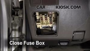 Interior Fuse Box Location: 19962002 Toyota 4Runner
