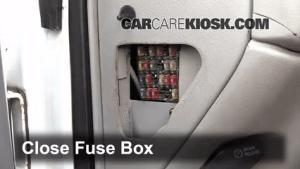 Interior Fuse Box Location: 19902000 Chevrolet K3500  2000 Chevrolet K3500 65L V8 Turbo