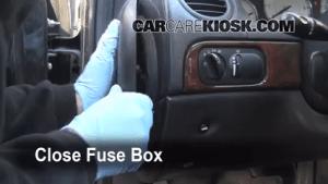 Interior Fuse Box Location: 19992004 Chrysler 300M  1999