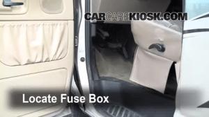 Interior Fuse Box Location: 19902007 Ford E150 Econoline Club Wagon  2001 Ford E150