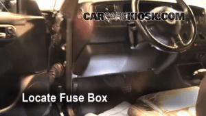 Replace a Fuse: 19952002 Volkswagen Cabrio  2002
