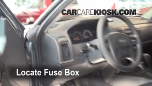 Interior Fuse Box Location: 19992004 Jeep Grand Cherokee