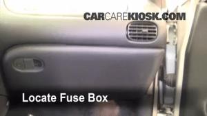 Interior Fuse Box Location: 19972003 Pontiac Grand Prix  2003 Pontiac Grand Prix GT 38L V6