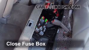 Interior Fuse Box Location: 20002005 Buick LeSabre  2004 Buick LeSabre Custom 38L V6