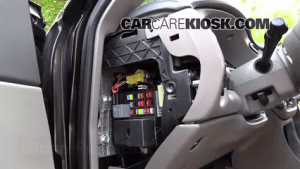 Interior Fuse Box Location: 20002005 Chevrolet Impala
