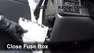 Interior Fuse Box Location: 19992007 Chevrolet Silverado 1500  2003 Chevrolet Silverado 1500