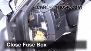 Interior Fuse Box Location: 19972004 Dodge Dakota  2002 Dodge Dakota SLT 39L V6 Crew Cab