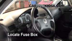 Interior Fuse Box Location: 19992005 Volkswagen Jetta