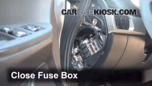 Interior Fuse Box Location: 20042012 Mitsubishi Galant  2005 Mitsubishi Galant ES 24L 4 Cyl