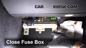 Interior Fuse Box Location: 20042011 Volvo S40  2005