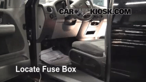 Interior Fuse Box Location: 20042008 Ford F150  2006