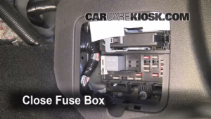 Interior Fuse Box Location: 20052009 Ford Mustang  2006