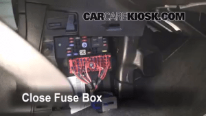 Interior Fuse Box Location: 20062011 Chevrolet HHR  2007 Chevrolet HHR LT 22L 4 Cyl