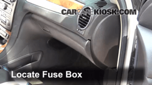 Interior Fuse Box Location: 20082012 Buick Enclave  2008