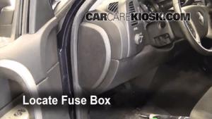Interior Fuse Box Location: 20072013 Chevrolet Silverado 1500  2008 Chevrolet Silverado 1500
