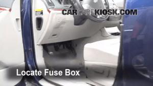 Interior Fuse Box Location: 20072012 Hyundai Veracruz  2008 Hyundai Veracruz GLS 38L V6