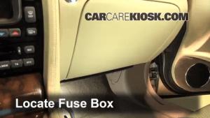 Interior Fuse Box Location: 20042009 Jaguar XJ8  2008 Jaguar XJ8 L 42L V8
