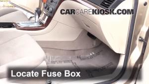 Interior Fuse Box Location: 20072009 Saturn Aura  2008