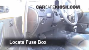 Interior Fuse Box Location: 20062010 Volkswagen Beetle  2008 Volkswagen Beetle S 25L 5 Cyl