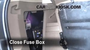 Interior Fuse Box Location: 20102016 Volvo XC60  2010