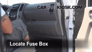 Interior Fuse Box Location: 20052014 Nissan Frontier