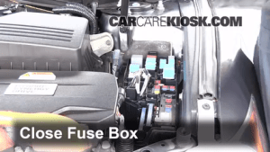 Blown Fuse Check 20072011 Toyota Camry  2009 Toyota